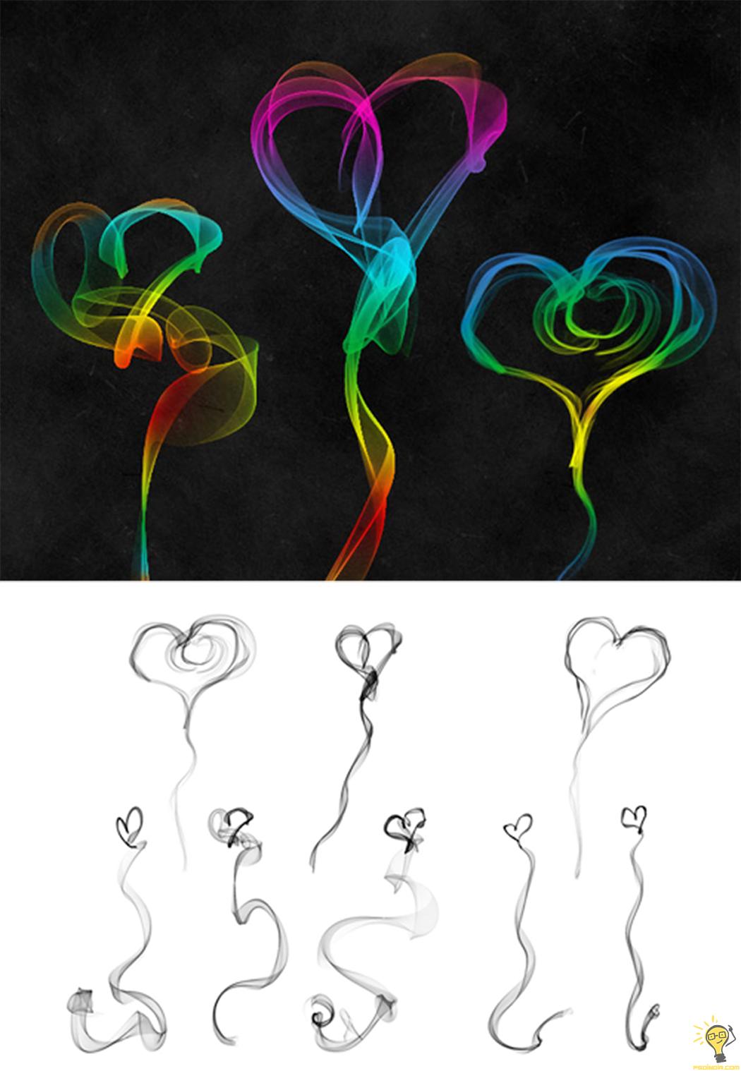 Photoshop-Heart-Brushes