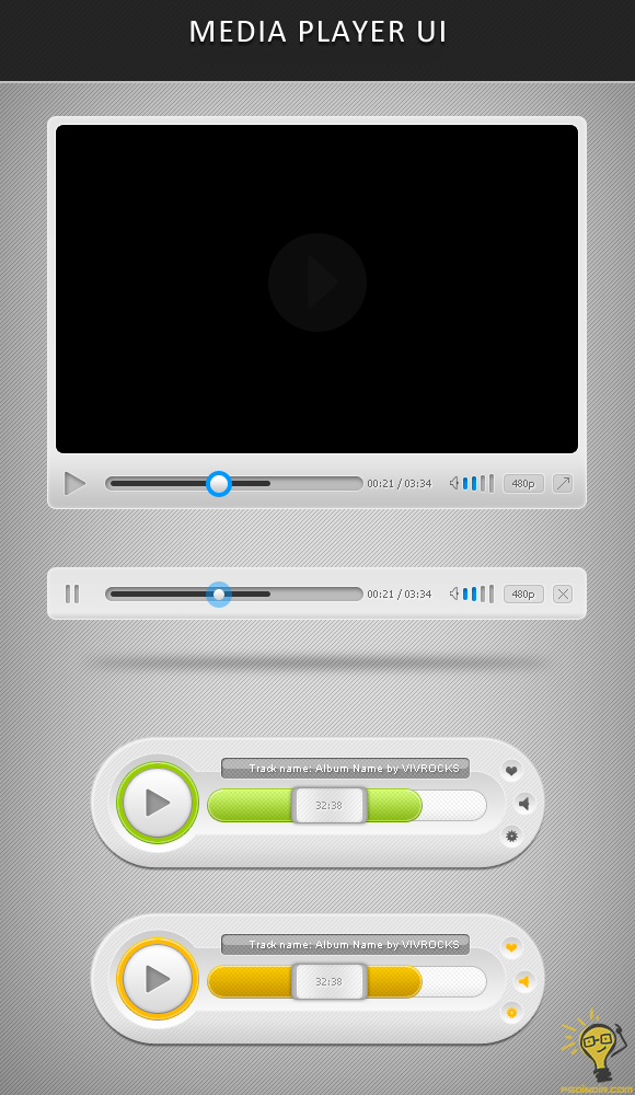 Media-Player-PSD