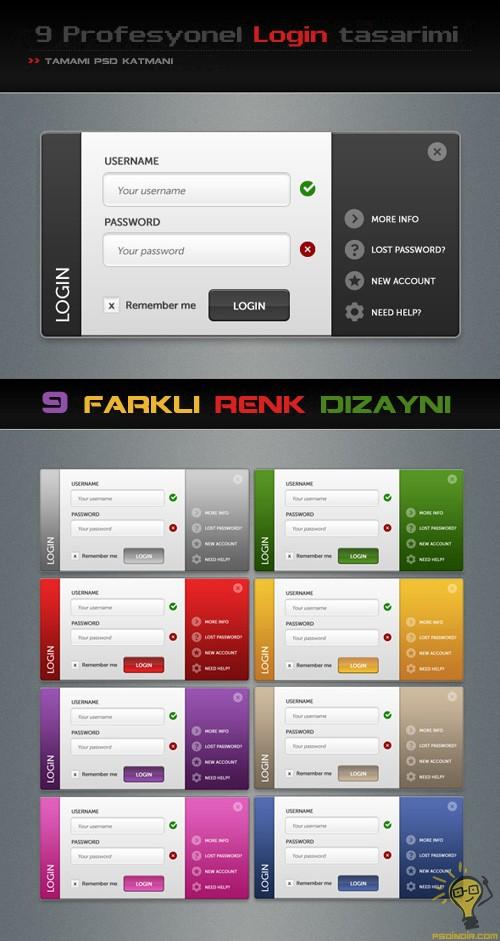 Profesyonel-login-tasarımı-PSD