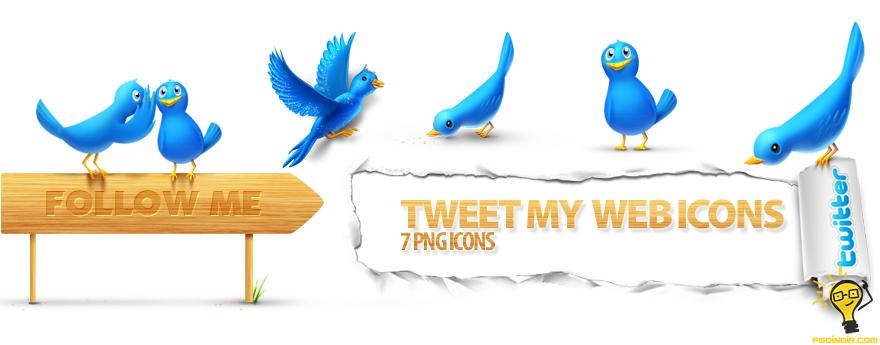 Twitter-ikon-seti