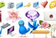 Karışık PNG Web ikon setleri