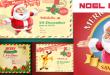 Noel ( Yeni Yıl ) Kartpostal Tasarımları (EPS)