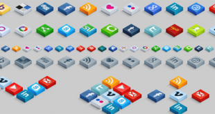 izometrik-3D-sosyal-ikon-seti-indir