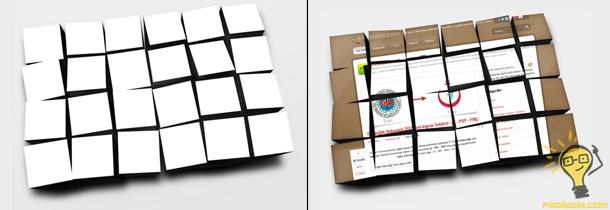 Resimlere 3D Küp Kutu Görünümü Kazandırmak (PSD)