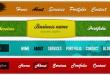 7 Farklı Navigation Menu PSD